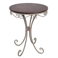 Wood / Iron Bistro Table