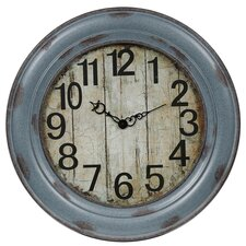 "Oversized 31"" Vintage Wall Clock"