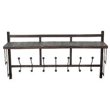 Iron / Wood Wall Shelf