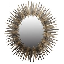Oval Iron Mirror