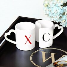 XOXO Coffee Mug (Set of 2)