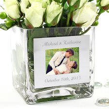Wedding Vase with Photo Frame