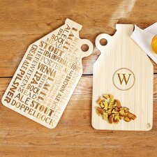 Personalized Reversible Growler Serving Board