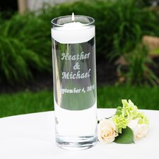 Personalized Floating Unity Candle Holder