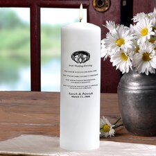 Wedding Irish Blessing Unity Pillar Candle