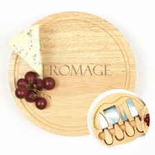 5 Piece Fromage Gourmet Cheese Tray Set