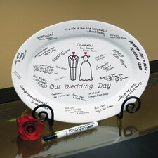 Our Wedding Platter