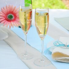 Beach Wedding Toasting Flutes