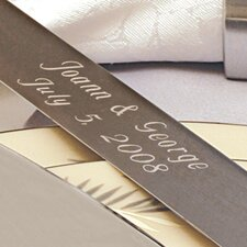 Satin Finish Cake Server Set
