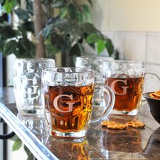 <strong>Cathys Concepts</strong> Classic Beer Tankard (Set of 4)
