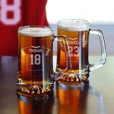 2 Piece Football Jersey Mug Set