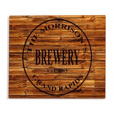 Brewery Bar Sign Textual Art Plaque