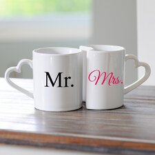 Mr. and Mrs. Coffee Mug Set (Set of 2)