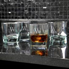 Personalized Rock Glass (Set of 4)