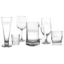 6 Piece Party Glassware Set