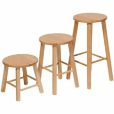 "17"" High Classroom Stool"