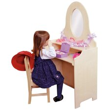 "<strong>Steffy Wood Products</strong> Heirloom 30"" Children's Vanity"