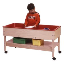<strong>Steffy Wood Products</strong> Sand and Water Table with Shelf