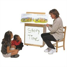 <strong>Steffy Wood Products</strong> Big Book Easel Storage Whiteboard