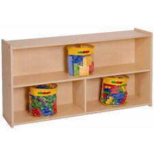 "27"" High Two Shelf Storage"