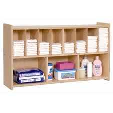 <strong>Steffy Wood Products</strong> Wall Diaper Shelf