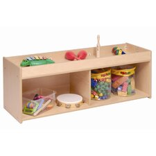 <strong>Steffy Wood Products</strong> Toddler Storage with Mirror Back