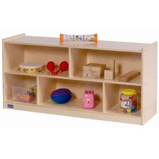 <strong>Steffy Wood Products</strong> Toddler 2 Shelf Storage