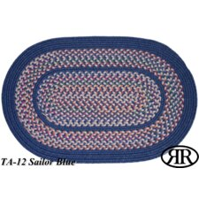 <strong>Rhody Rug</strong> Tapestry Sailor Blue Multi Rug