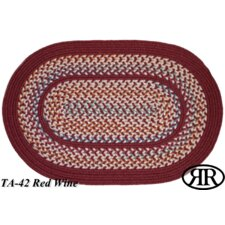 <strong>Rhody Rug</strong> Tapestry Wine Red Multi Rug