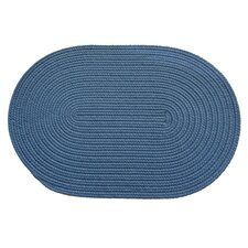 Solid French Blue Rug