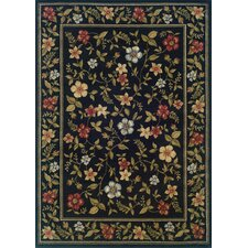 Marion Black/Green Rug