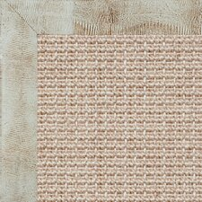<strong>Fibreworks</strong> Paradise Retreat Jumbo Boucle Embossed Leather Lizard Winter Bordered Rug