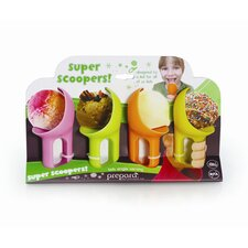Superscooper Kids Ice Cream Scoop (Set of 4)