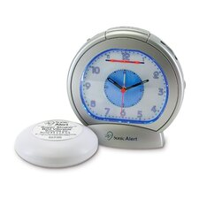 Sonic Boom Vibrating Analog Alarm Clock