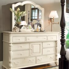 Steel Magnolia 9 Drawer Combo Dresser