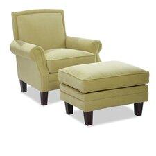 Hosta Chair and Ottoman