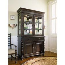 Sweet Tea China Cabinet in Tobacco