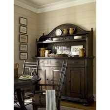 Down Home The Hostess Credenza with Hutch