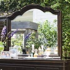 Steel Magnolia Decorative Landscape Mirror