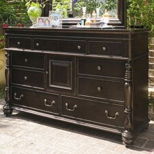 <strong>Paula Deen Home</strong> Steel Magnolia 9 Drawer Dresser