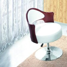 <strong>International Design USA</strong> Caravan Adjustable Leather Side Chair