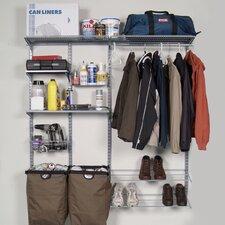 "66""Lx63""H Garment Storage System"