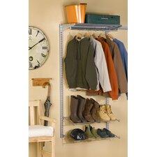 "33""Lx63""H Garment Storage System"