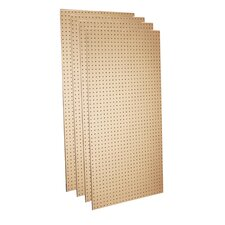 Round Hole Pegboards (Set of 4)