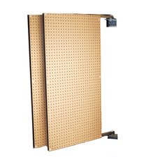 XtraWall (2) 24 In. W x 48 In. H x 1-1/2 In. D Wall Mount Double-Sided Swing Panel Pegboard