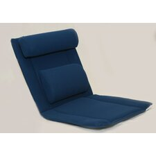 Back and Seat Cushion with Lumbar and Shoulder Roll