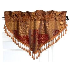 "Galleria Ascot Rod Pocket Swag 40"" Curtain Valance"