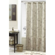 <strong>Croscill Home Fashions</strong> Lacie Leaves Polyester Shower Curtain