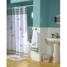 <strong>Croscill Home Fashions</strong> Ocean Surf Polyester Shower Curtain