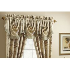 <strong>Croscill Home Fashions</strong> Iris Rod Pocket Swag Curtain Valance